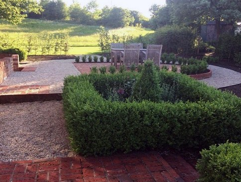 Beautiful Brick Patio Backyard Design