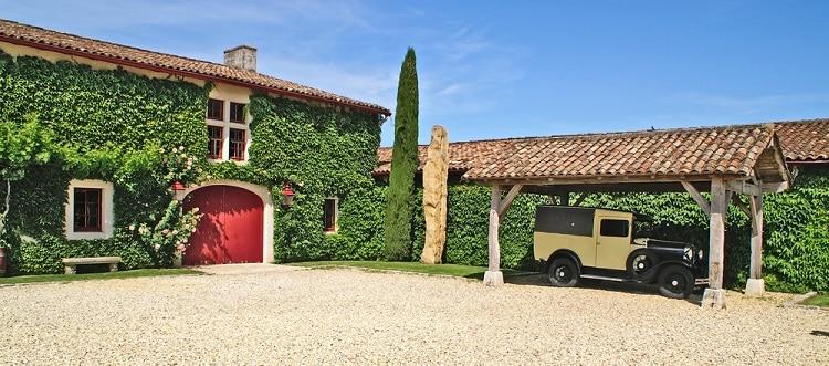 Beautiful Carriage House Carport