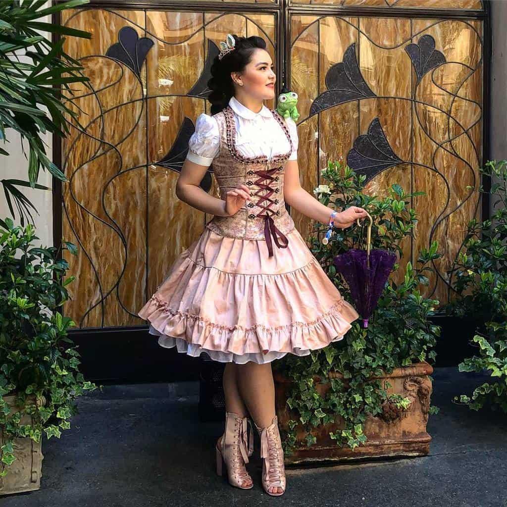 Beautiful Corset Dress Modern Victorian Style