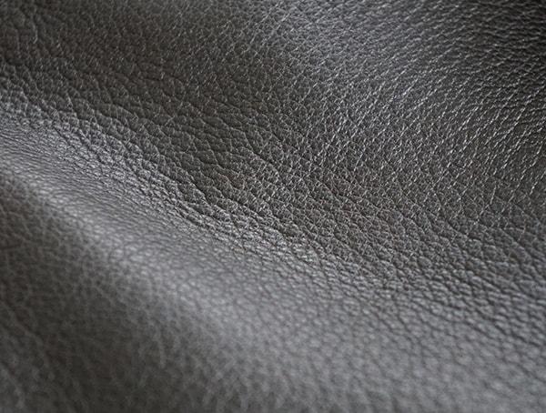 Beautiful Dark Brown Goatskin Leather Up Close Texture Detail