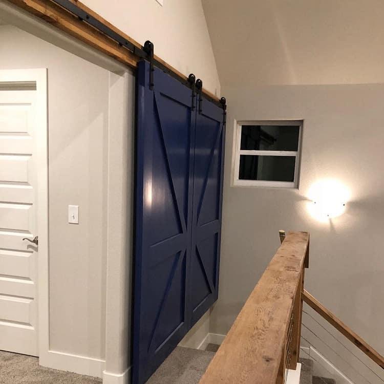 Beautiful Double Barn Door