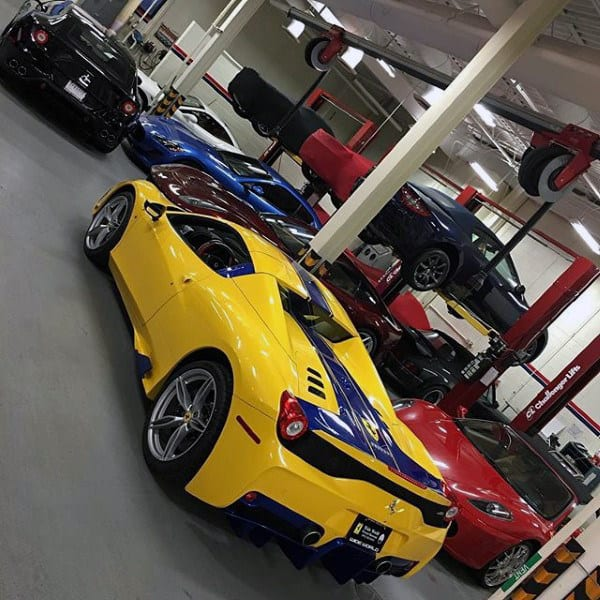 Beautiful Dream Garage With Lifts