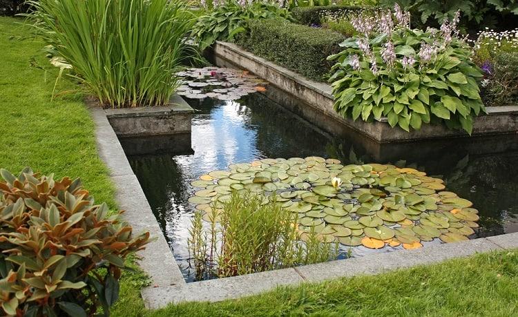 Beautiful Garden Backyard Pond Landscaping