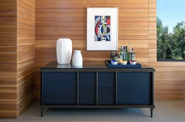 Beautiful Hardwood Wall Contemporary Home Interior Designs