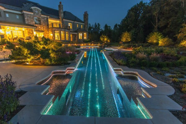 Beautiful Home Swimming Pool Lighting Ideas