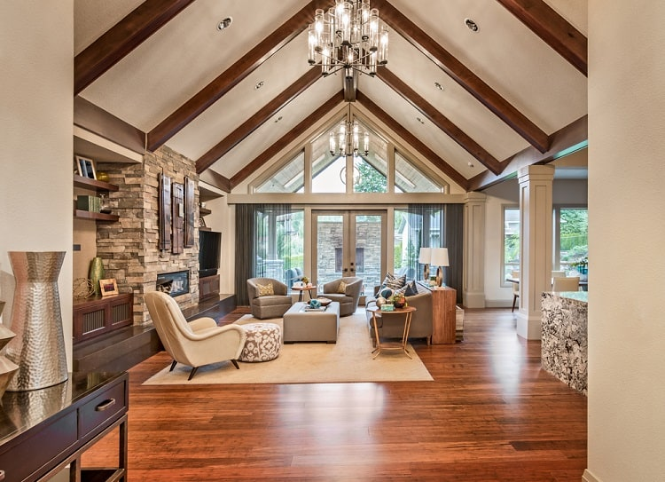 Beautiful Luxury Home Vaulted Ceiling
