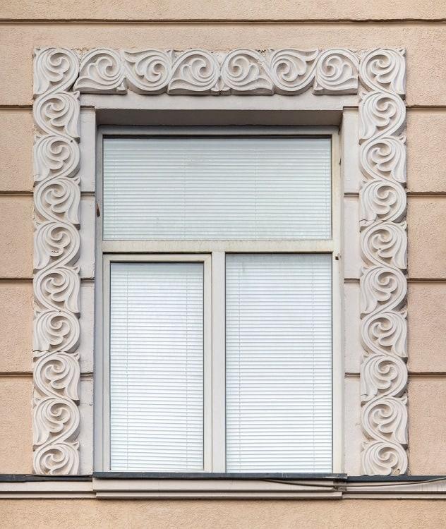 Beautiful Ornate Exterior Window Trim