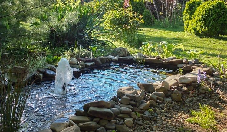 Beautiful Small Garden Backyard Fountain