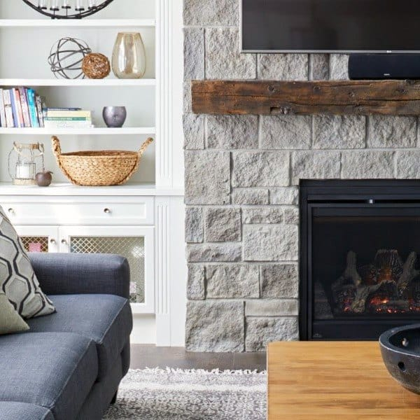 top 70 best stone fireplace design ideas rustic rock interiors rh nextluxury com stone fireplace design ideas photos Stone Fireplace Hearth Ideas