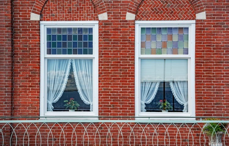 Beautiful Vintage Exterior Window Trim For Brick Homes