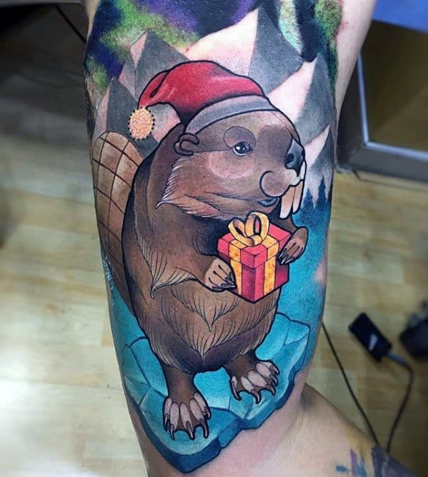 Beaver Guys Tattoo Ideas