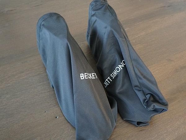 Beckett Simonon Dowler Cap Toe Boots Dust Bags