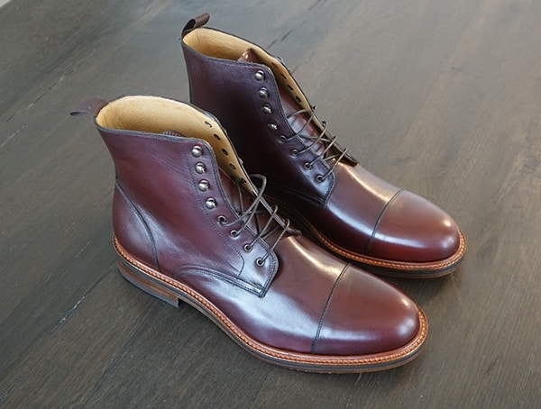 Beckett Simonon Dowler Cap Toe Male Leather Boots Review