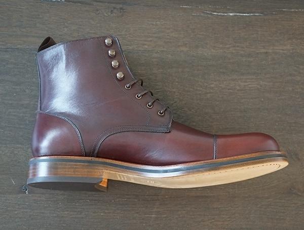 Beckett Simonon Dowler Cap Toe Side Of Boot