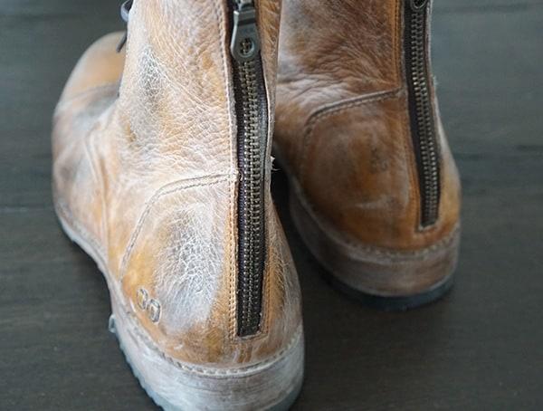 Bed Stu Protege Mens Boots Rear Full Zipper
