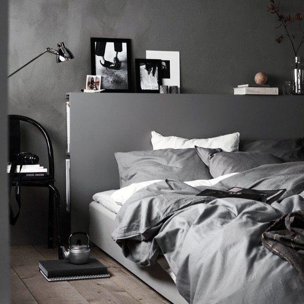 100 Bedroom Decorating Ideas Designs: Top 60 Best Grey Bedroom Ideas