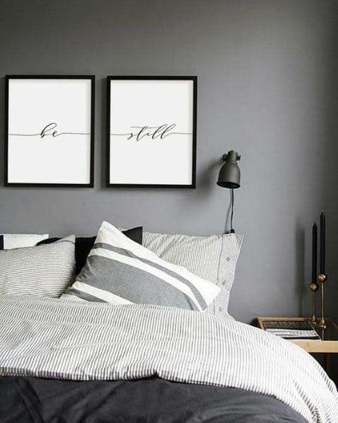 Bedroom Design Ideas Grey Themed Color