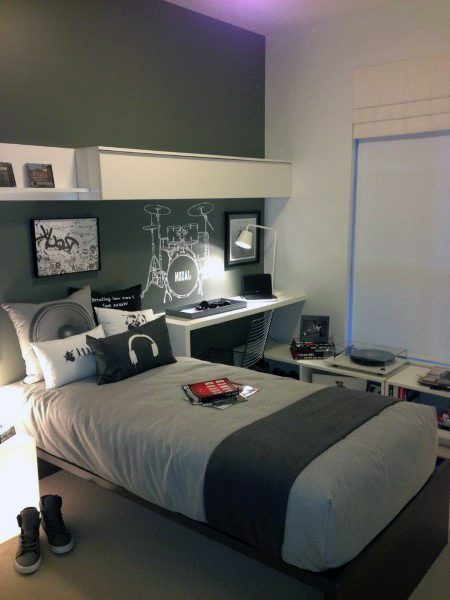 Room Design For Teenager: Top 70 Best Teen Boy Bedroom Ideas