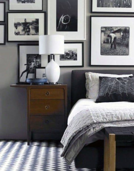 night stand with storage bedroom storage ideas