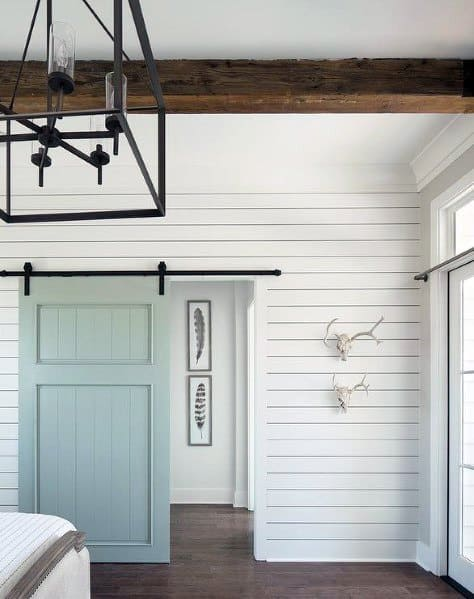 Bedroom Impressive Shiplap Wall Ideas