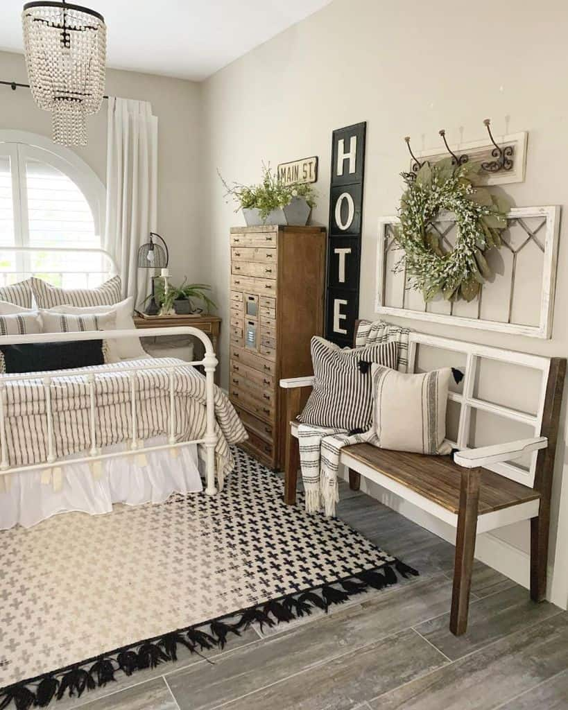 farmhouse bedroom decor ideas