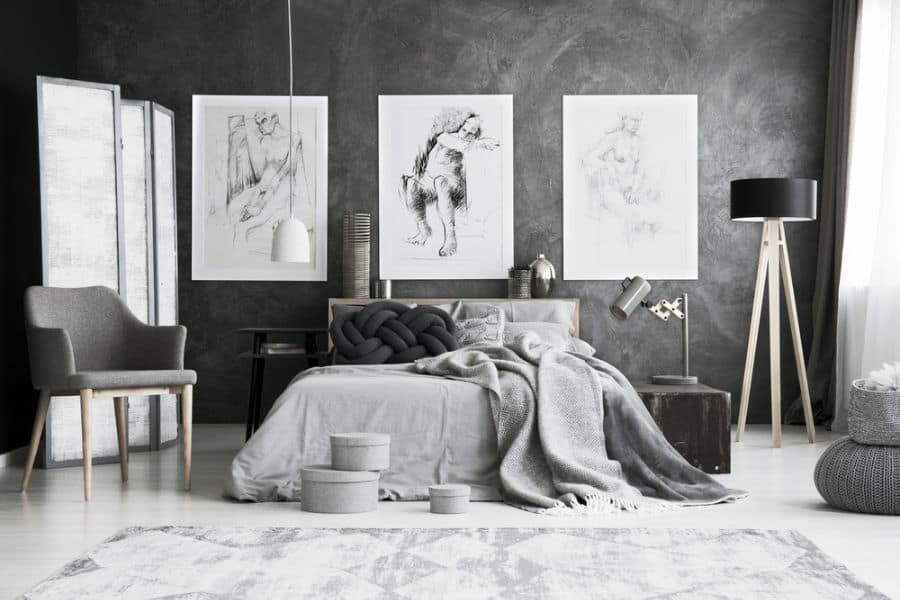 Bedroom Picture Wall Ideas 1