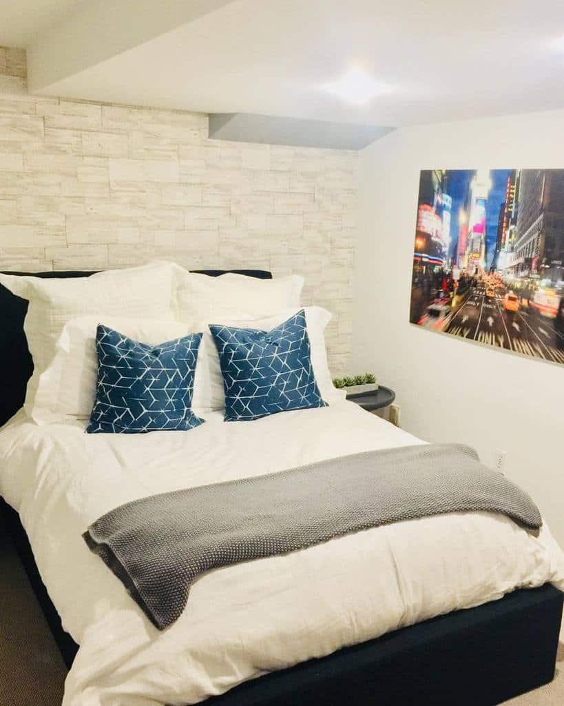 bedroom small basement ideas interiorsbyorlee