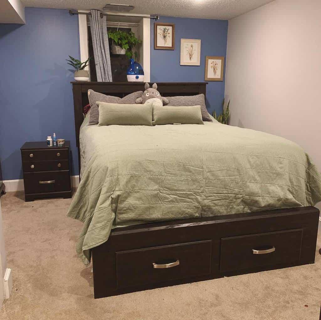 bedroom small basement ideas shortyestperspective