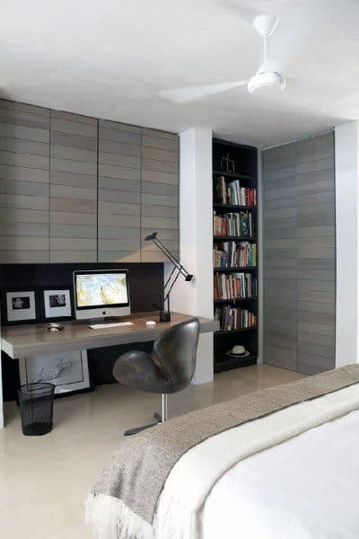 Masculine Home Office Decor Rustic