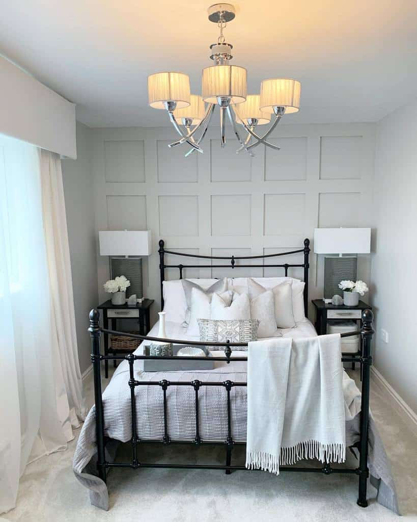 bedroom wall paneling ideas emilymay_interior