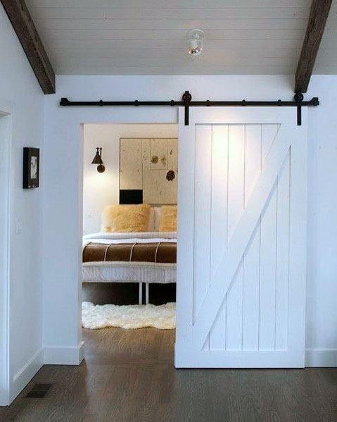 Top 60 Best Sliding Interior Barn Door Ideas Interior Designs