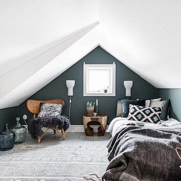 Bedrooms In Attics