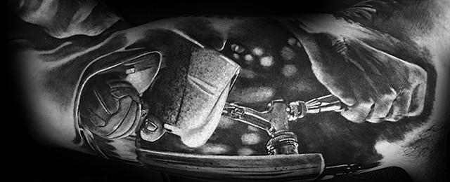 Beer Tattoo Designs For Men