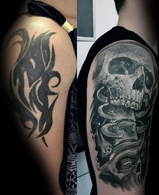 60 cover up tattoos for men concealed ink design ideas