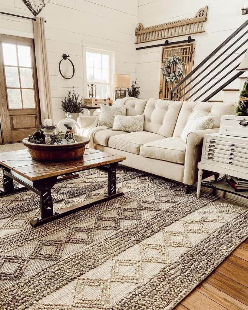 Beige Living Room Color Ideas Rachel Thepondsfarmhouse