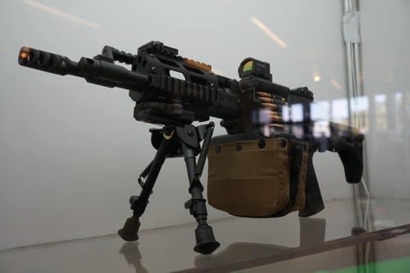 Belt Fed Rifle
