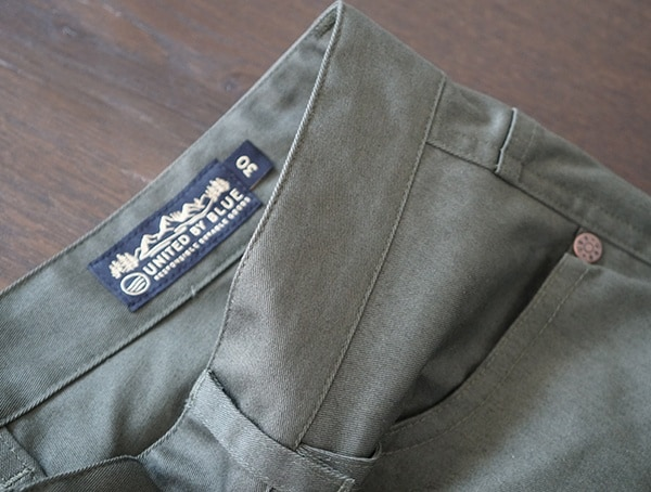 Belt Loops With Inner Tag Mens United By Blue Cartwright Pants