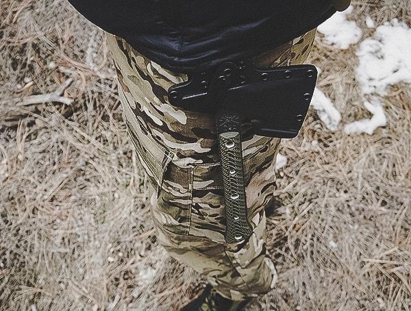Belt Mounted Rmj Tactical Jenny Wren Tomahawk Review