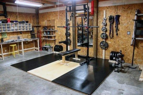 Bench Press Garage Gym Ideas