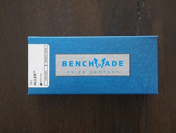 Benchmade 380 Aller Knife Box