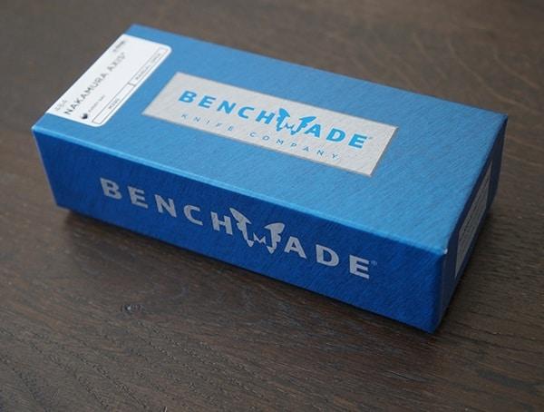 Benchmade Nakamura Axis Knife Box