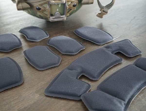 Berry Compliant Team Wendy Exfil Ballistic Sl Interior Adjustable Padding