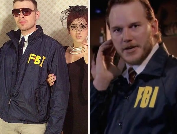 Bert Macklin Fbi Parks And Recreation Best Adult Mens Halloween Costumes