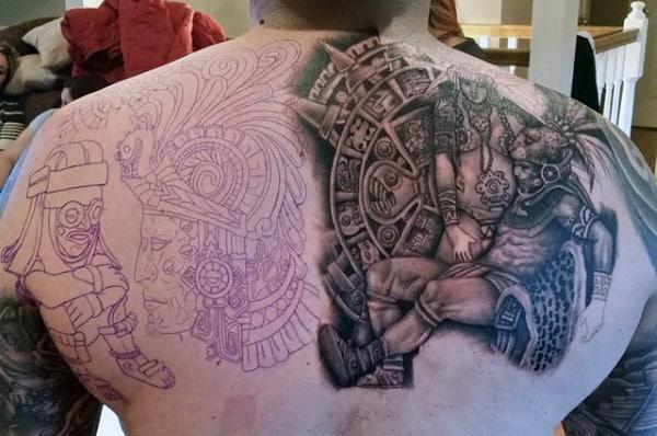 Best Aztec Tattoos For Men
