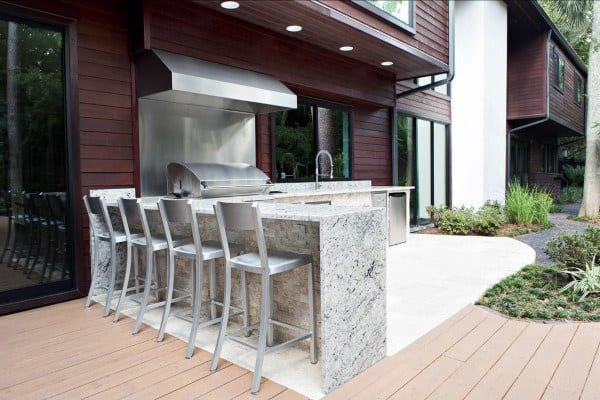 Best Backyard Decks And Patios With Bar