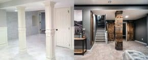 Top 50 Best Basement Pole Ideas – Downstairs Column Cover Designs