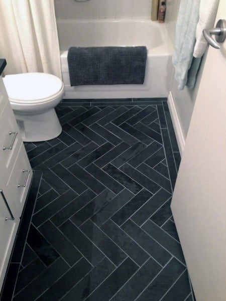 Top 60 Best Bathroom Floor Design Ideas