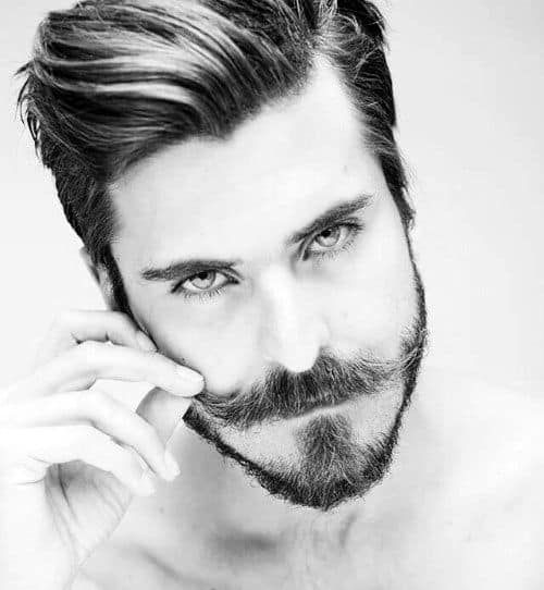 Groovy 50 Hairstyles For Men With Beards Masculine Haircut Ideas Short Hairstyles Gunalazisus