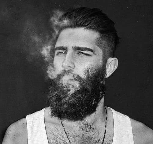 Cool 50 Hairstyles For Men With Beards Masculine Haircut Ideas Short Hairstyles For Black Women Fulllsitofus
