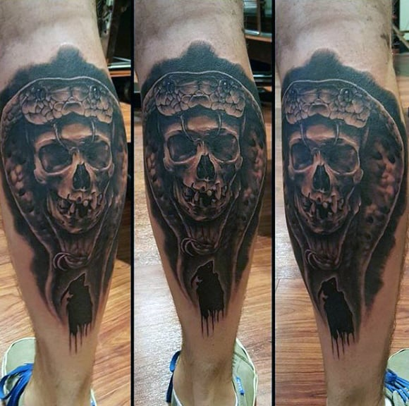 60 Best Calf Tattoos For Men And Women: Body Art Below The Knee